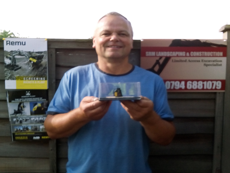 remu prizewinner Bob Morris