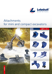 Lehnhoff Hydraulic Attachments for Mini and Compact Excavators 1-12t Brochure