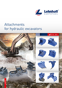Lehnhoff Hydraulic Attachments for Mini and Compact Excavators 10-50t Brochure