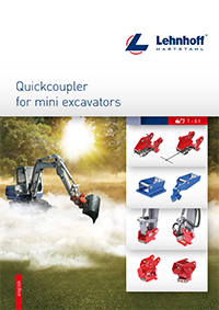 Lehnhoff Variolock Brochure Mini Excavators 2-6t