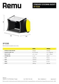 Remu EP3150 Brochure