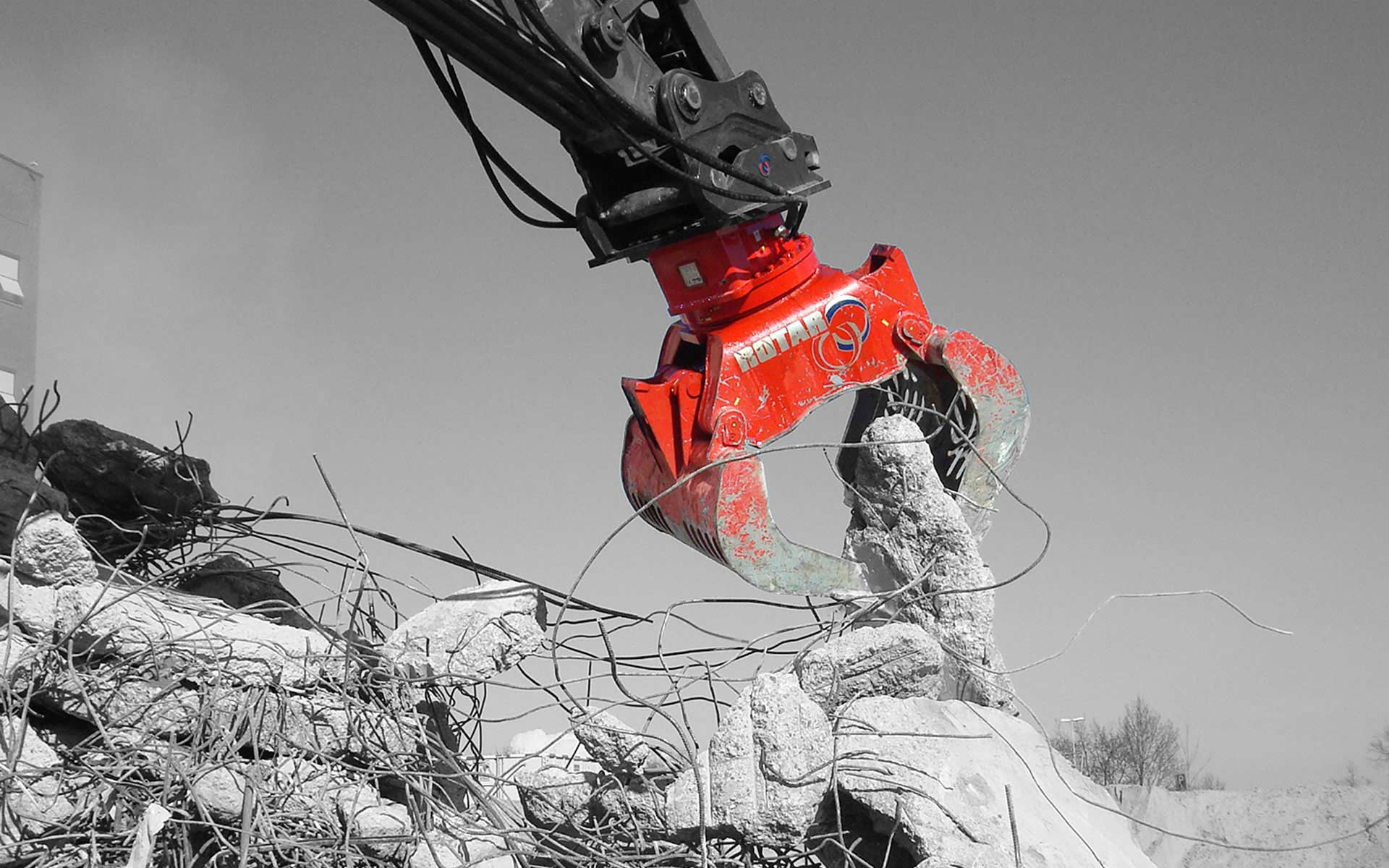 Demolition or Sorting Grab