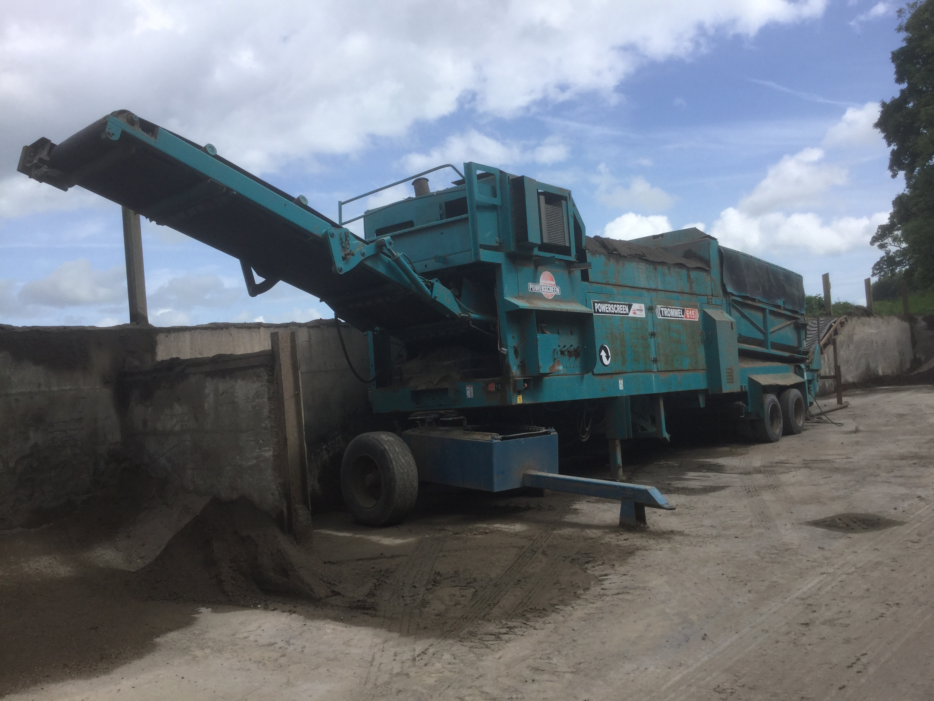 Powerscreen 615 Trommel For Sale