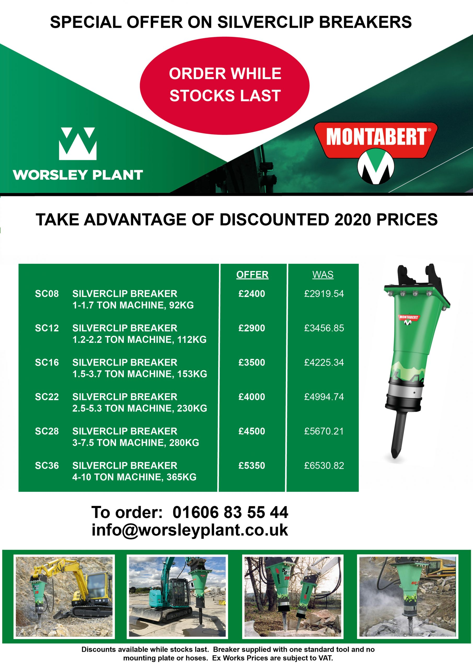 Montabert SilverClip Promotion Flyer