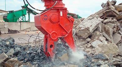 Demolition Pulveriser